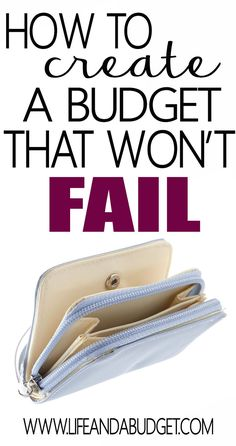Truth is..your budget probably sucks and it doesn't have to stay that way. If you've continued to fail at budgeting, you may not be doing the way that works best for you. Read this article and learn how to create a budget that won't fail you!