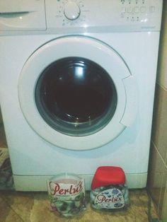 Pierwsze pranie za nami!! #Perlux #Najskuteczniejszeperły