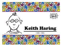 keith Haring for kids by nivaca2 via slideshare