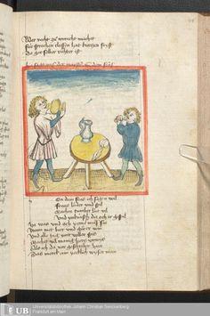 197 [94r] - Ms. germ. qu. 6 - Der Renner - Page - Mittelalterliche Handschriften - Digitale Sammlungen Schwaben, [1446; um 1450]