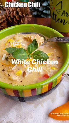 Chowder Recipes, Soup Recipes, Bisque Soup, Chili Chili, Single Serving Recipes, Chilli Recipes, White Chicken Chili, Corn Chowder, Small Meals