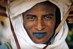 Wodabe man (Niger)