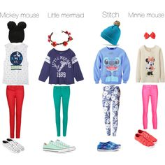 Modern Disney Character Outfits Polyvore   Disney outfits
