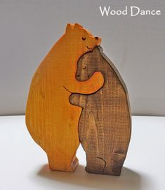 Small Woodworking Projects, Small Wood Projects, Cool Art Projects, Wood Crafts, Diy And Crafts, Plywood Projects, Making Wooden Toys, Wooden Animals, Scroll Saw Patterns