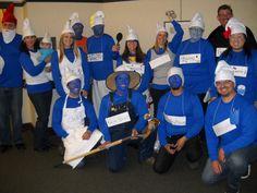 Halloween Group Smurfs Costume www.sweetteasweetie.com