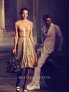 Bottega Veneta Spring 2013 ad campaign - Freja Beha Erichsen and Baptiste Radufe photographed by Peter Lindbergh