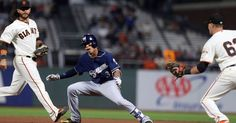 Brewers offense comes up short in shutout loss to Giants