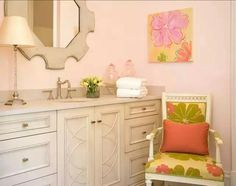 Benjamin moore blanched coral - whoa, pink