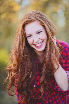 Long hair, Senior Photos, Simple Makeup, fall colors