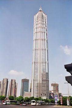9º. 420 m: Jin Mao Building - Xangai, China.