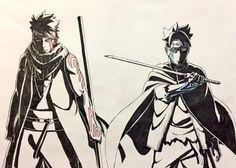 Kawaki and Boruto - Boruto: Naruto Next Generations