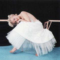 Marilyn Monroe Ballerina Shoot 1954 <3