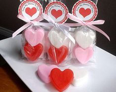 Heart Wedding Favors, Bridal Shower Favors, Soap Favors by TheBathofKhan Soap Gifts, Soap Favors, Wedding Shower Favors, Baby Shower Favors, Teacher Valentine, Valentines, Soap Packing, Diy Party Supplies, Valentine's Day Printables