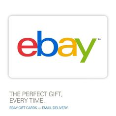 eBay Gift Card $15 to $100 - Email Delivery DON'T BUY FROM EBAY!  BUY AT STORE!