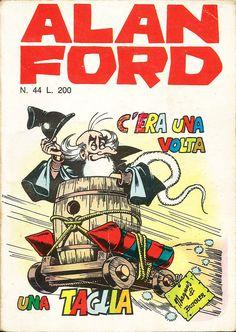 """Alan Ford n.44 """"C'Era Una Volta Una Taglia"""", di Magnus [Roberto Raviola], chine di Paolo Chiarini - febbraio 1973"""