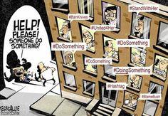 Hashtag Activism Illustrated