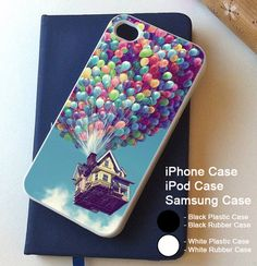 Disney Up House Cover iPhone 4 4s 5 5s 5c 6 6S 6+ 6S+ and Samsung Galaxy Case