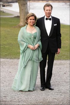 María Teresa Mestre Batista et grand-duc Henri de Luxembourg.
