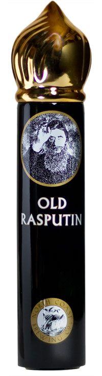 Old Rasputin Ceramic Tap Handle