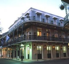 Hotel Royal New Orleans with Jerry. A quaint  hotel with amazing character and an awesome court yard