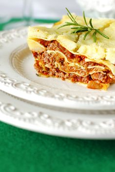 Lasagne Bolognese i Sos Beszamelowy Just My Delicious