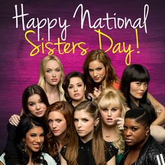Celebrate National Sisters Day with your favorite pitches!