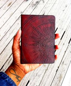 Leather Compass Passport Cover - Passport Wallet - Compass Passport Wallet - Enjoy The Journey - Wanderlust - Not All Who Wander Are Lost by LeatherImagined on Etsy https://www.etsy.com/listing/254989406/leather-compass-passport-cover-passport