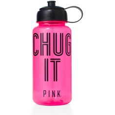 Victoria's Secret Water Bottle (€13) ❤ liked on Polyvore featuring food, drinks, food and drink, victoria's secret, home and bon bon