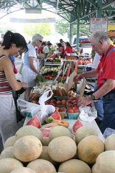 Overland Park Farmer's Market. Three blocks south, on my street :) <3
