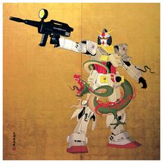 """Sci-Fi Samurai"" by Tenmyouya Hisashi"