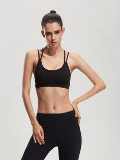 aa32c5f7152b7 Sexy Women Sport Bra running Athletic Yoga Bra Breathable Underwear bra  Push Up sujetador deportivo crop top fitness bra