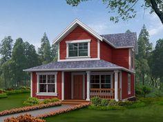traditional narrow lot house (2)