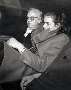 Stephanie with her father, Prince Rainier