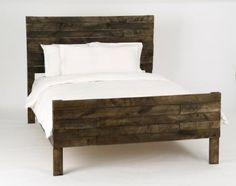 Custom Made Pallet Bed