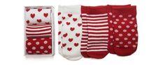Spots & Hearts Baby Sock Set $10.95