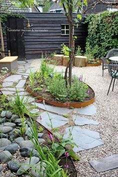 Garden Design Layout - New ideas Garden Nook, Garden Cottage, Home And Garden, Garden Kids, Garden Paths, Garden Landscaping, Dream Garden, Garden Inspiration, Outdoor Gardens