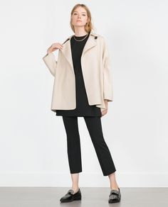 HAND MADE COAT - View all - Outerwear - WOMAN | ZARA Egypt
