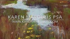 pastel marsh demo by karen margulis - YouTube