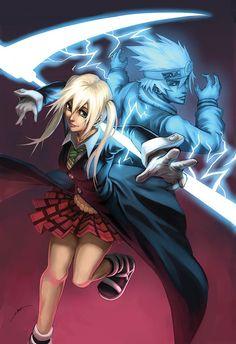 Maka from Soul Eater Maka Albarn by Quirkilicious