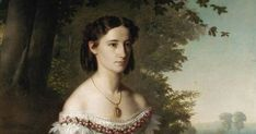 Unidentified portrait, ca. 1862, circle of Franz Xaver Winterhalter. Private collection.