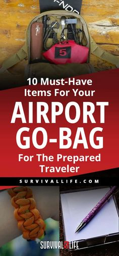 10 Must-Have Items For Your Airport Go-Bag   For The Prepared Traveler