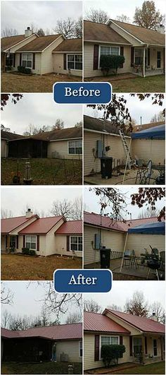 Another beautiful Metal Roofing project completed by CBI Oklahoma City!