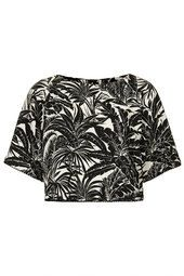Mono Tropical Print Raglan Tee from Topshop R660,00