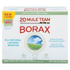 Borax; cause I got the hardest water around!