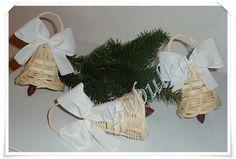 Vianočné zvončeky z pedigu, Pletenie z pedigu | Artmama.sk