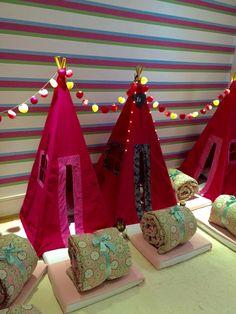 Cabana Pink Geométrica e Pink Camuflada - Tudo em perfeita harmonia!!!