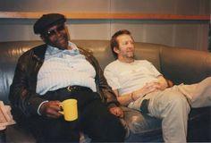 BB King & Eric Clapton. #EricClapton