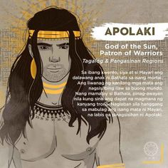 Apolaki and Mayari are Bathala's children with a mortal. The the light of their eyes serves as the light throughout the world. Filipino Words, Filipino Art, Filipino Culture, Philippine Mythology, Philippine Art, Filipino Tribal Tattoos, Samoan Tribal, Baybayin, Philippines Culture