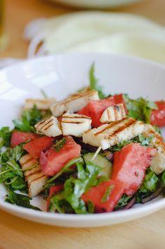 halloumi and watermelon salad recipe