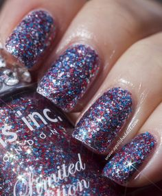 jubilee crystal color. nails inc. london.